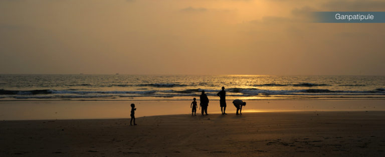 Beaches: Ganpatipule at Maharashtra