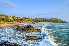 Beaches: Vagator Beach; Goa, Simply splendid